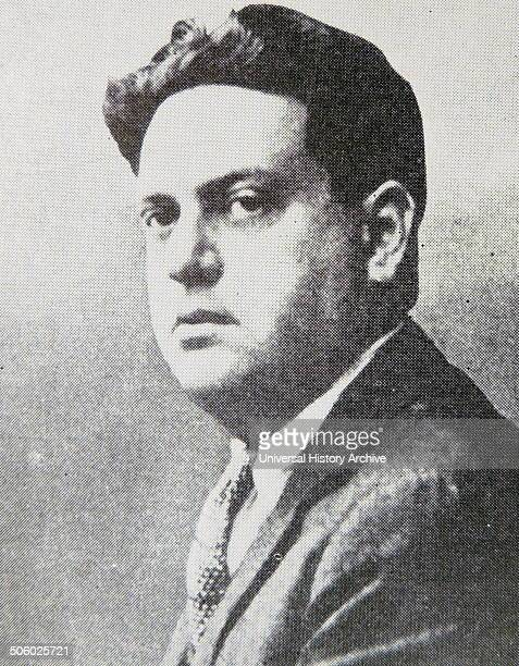 Darius Milhaud French composer A member of Les Six Mihaud in about 1934 Photo by
