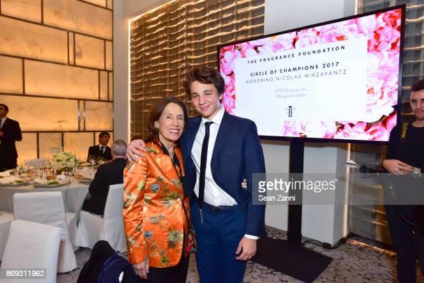 Darius Mirzayantz and Princess Marina of Greece attend the Circle of Champions 2017 at New York Park Hyatt on November 1 2017 in New York City