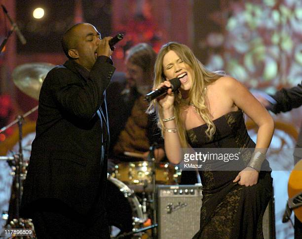 Darius Rucker and Joss Stone perform at TNT's 'Christmas in Washington' Concert to air Sunday December 14 at 8pm ET/PT live from the National...