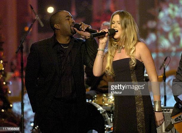 """Darius Rucker and Joss Stone perform at TNT's """"Christmas in Washington"""" Concert to air Sunday, December 14 at 8pm ET/PT, live from the National..."""