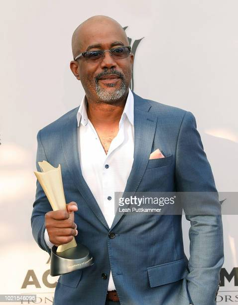 Darius Rucker attends the 12th Annual ACM Honors at Ryman Auditorium on August 22 2018 in Nashville Tennessee