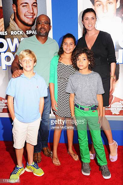 Darius Rucker Beth Leonard Henry Drew Dani Rucker and Jack Rucker attend the Grown Ups 2 New York Premiere at AMC Lincoln Square Theater on July 10...
