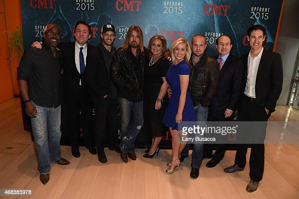 Darius Rucker Brian Phillips Josh Wolf Billy Ray CyrusCyma Zarghami Kellie Pickler Kyle Jacobs Philippe Dauman and Joey Logano attend the Annual 2015...