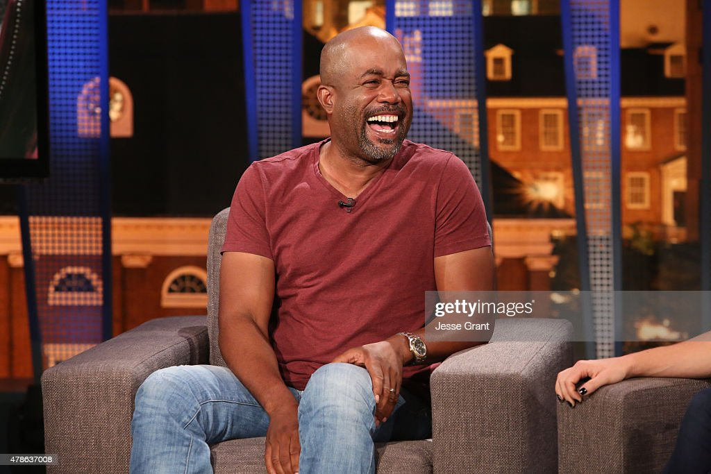 """Darius Rucker Is A Guest Panelist On An All-New Episode Of """"The Josh Wolf Show"""""""