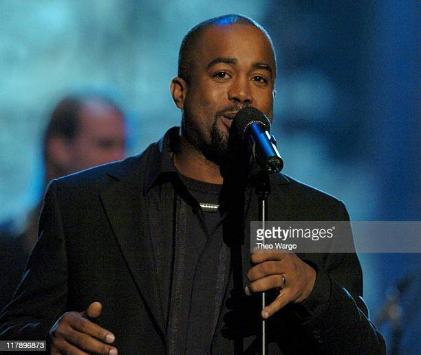 Darius Rucker of Hootie The Blowfish performs at TNT's Christmas in Washington Concert to air Sunday December 14 at 8pm ET/PT live from the National...