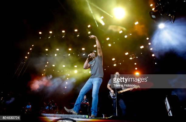 Darius Rucker performs at the 2017 Watershed Music Festival at Gorge Amphitheatre on July 29 2017 in George Washington