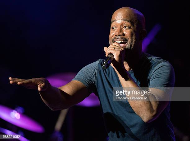 Darius Rucker performs at the 7th Annual Darius and Friends concert at Wildhorse Saloon on June 6 2016 in Nashville Tennessee