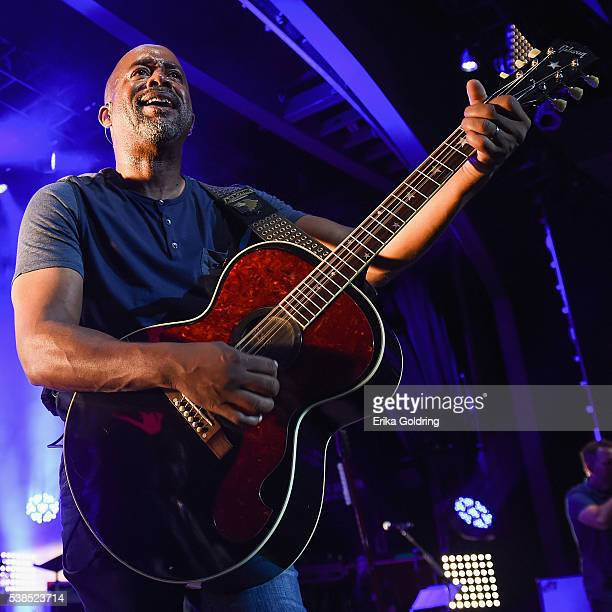 Darius Rucker performs during the 7th annual 'Darius and Friends' concert at Wildhorse Saloon on June 6 2016 in Nashville Tennessee
