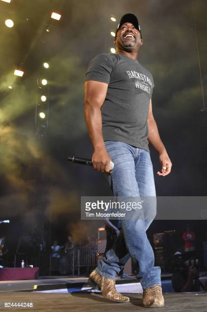 Darius Rucker performs during Watershed 2017 at the Gorge Amphitheatre on July 29 2017 in George Washington