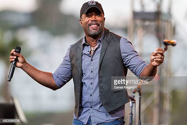 Darius Rucker performs on stage at the San Diego County Fair on June 13 2014 in Del Mar San Diego California