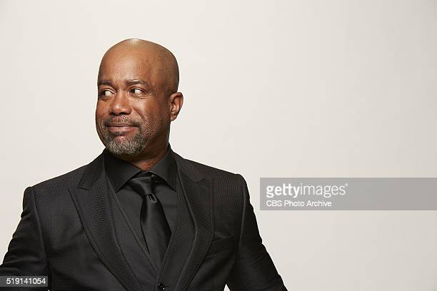 Darius Rucker stops by the CBS Photo Booth during the 51st ACADEMY OF COUNTRY MUSIC AWARDS cohosted by Luke Bryan and Dierks Bentley from the MGM...