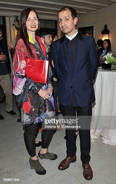 Darius Sanai and Candida Gertler attend the Venice Biennale 2013 Celebration with Baku Magazine hosted by Leyla Aliyeva Simon De Pury Darius Sanai at...