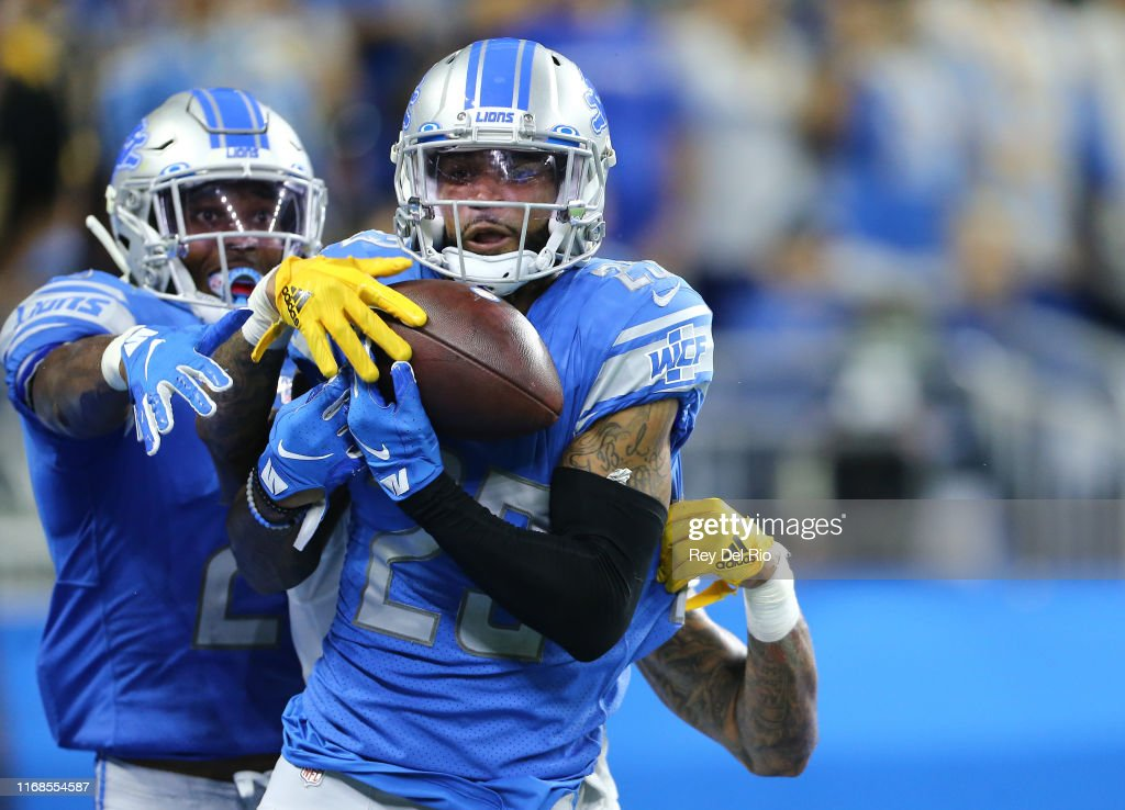 Los Angeles Chargers v Detroit Lions : News Photo