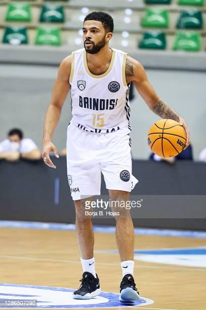 Darius Thompson of Happy Casa Brindisi during Basketball Champions League match between Hereda San Pablo Burgos and Happy Casa Brindisi on November...