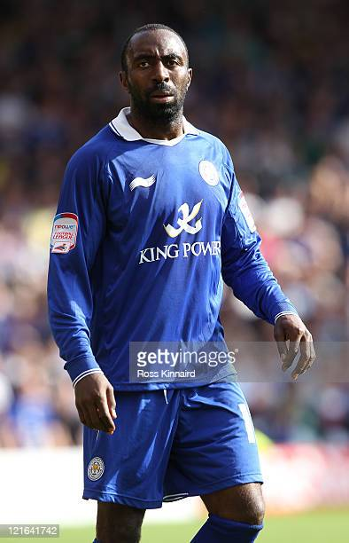 Darius Vassell of Leicester during the npower Championship match between Nottingham Forest and Leicester City at City Ground on August 20 2011 in...