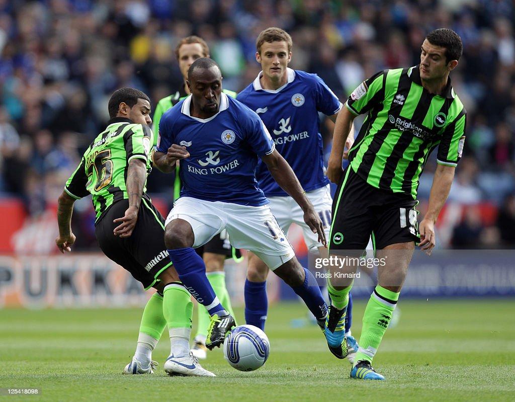 Leicester City v Brighton & Hove Albion - npower Championship