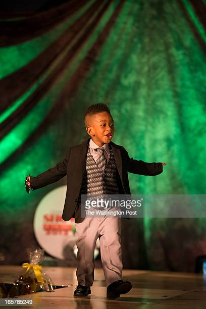 Darius Yarborough shows off his sense of style on stage at The Silver Spring Civic Building in Silver Spring Maryland on March 24 2013
