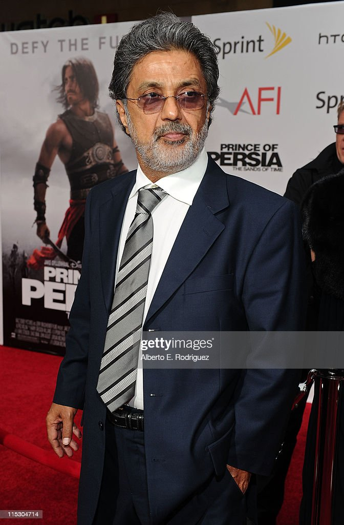 Dariush Eghbali arrives at the 'Prince of Persia: The Sands of Time' Los Angeles premiere held at Grauman's Chinese Theatre on May 17, 2010 in Hollywood, California.