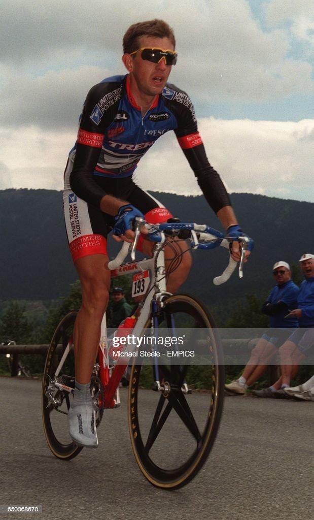 Cycling - Time Trials - Tour de France - St Etienne : News Photo