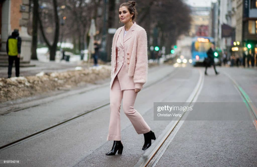 Day 1 - Steet Style - Oslo Fashion Week - January 2018