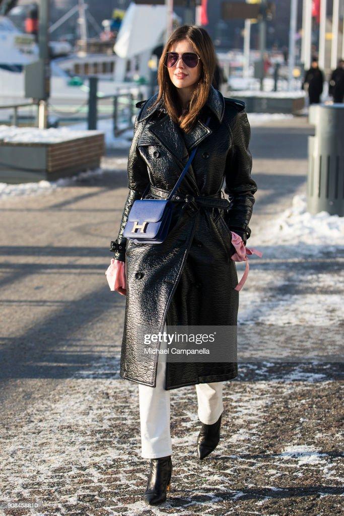 Steet Style - Stockholm Fashion Week - January 2018