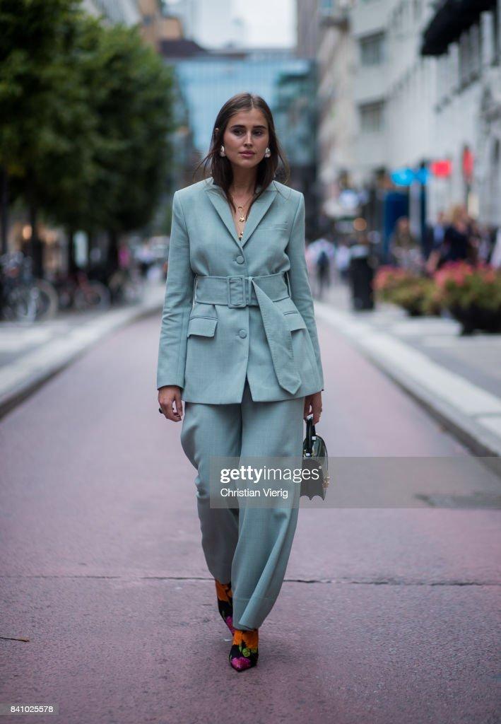 Street Style - Day 1 - Stockholm Fashion week Spring/ Summer 2018