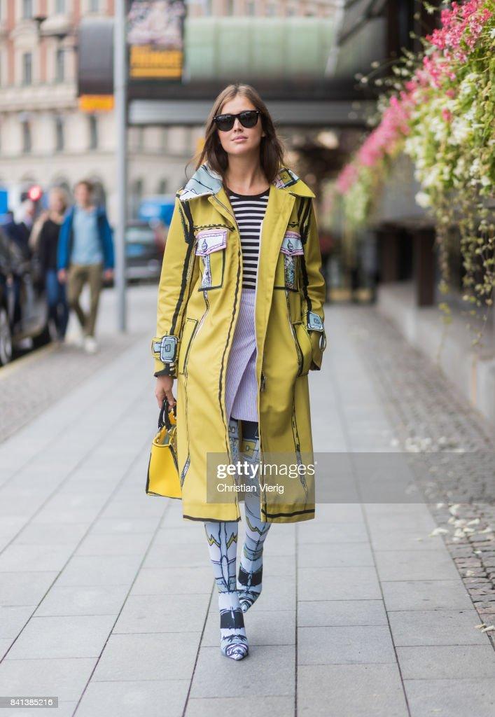 Street Style - Day 2 - Stockholm Fashion week Spring/ Summer 2018