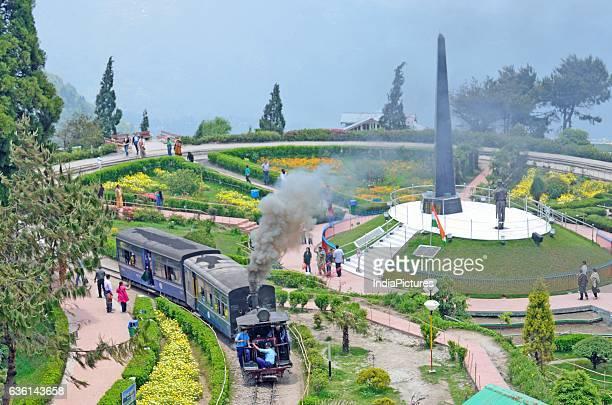 Darjeeling Himalayan Railway at Batasia Loop Darjeeling West Bengal
