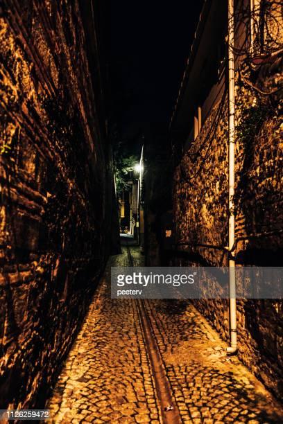 Dark alley - Istanbul, Turkey