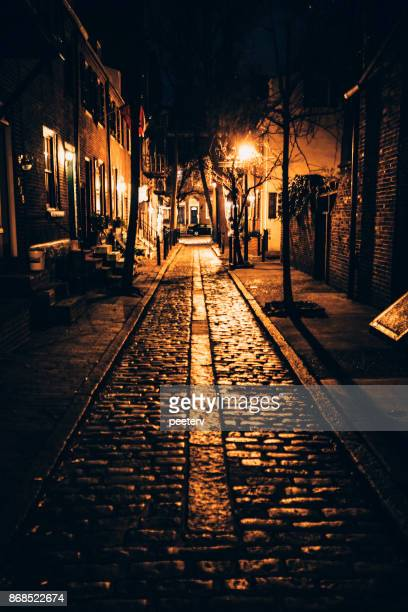 Dark alley - Philadelphia centre