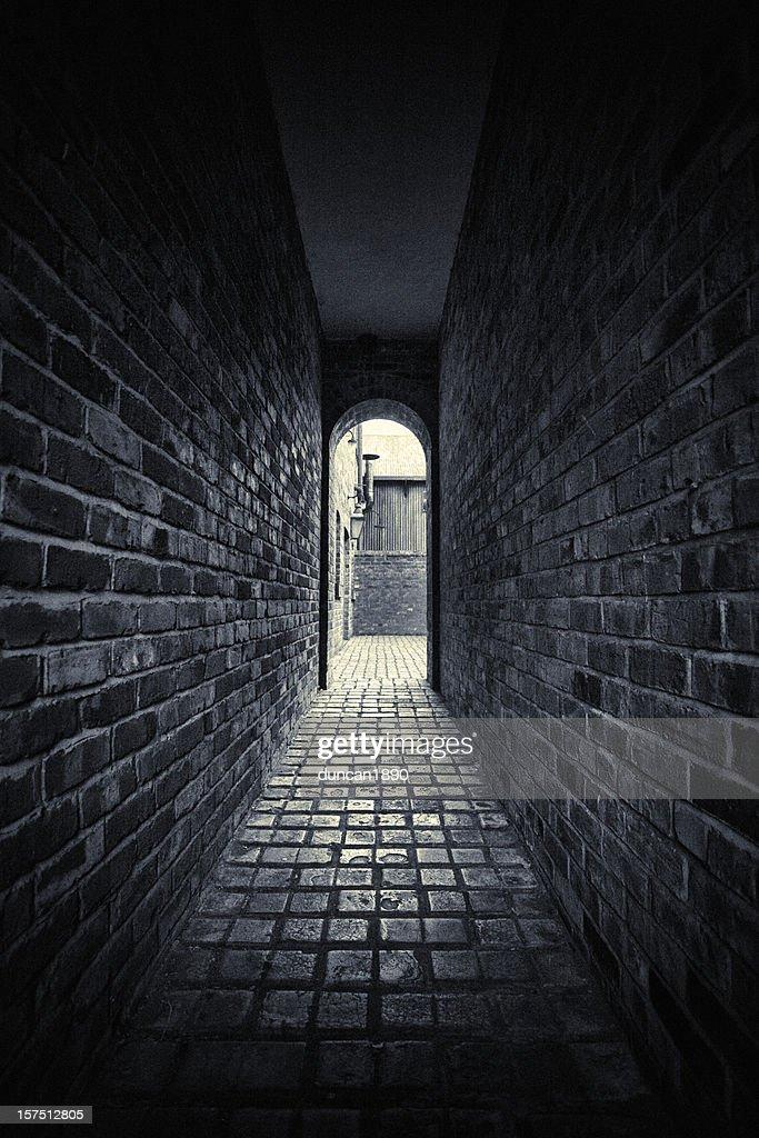 Dark Alley : Stock Photo