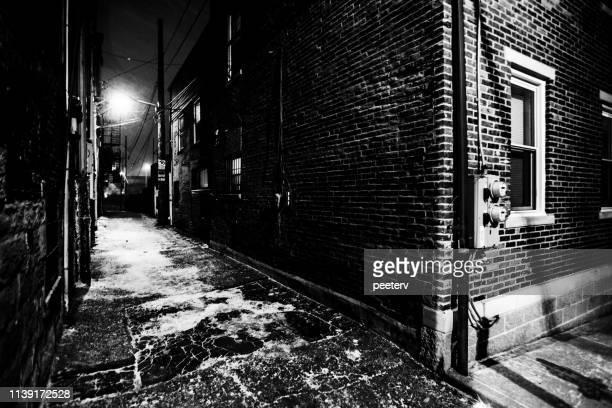 Dark alley - Pittsburgh, PA