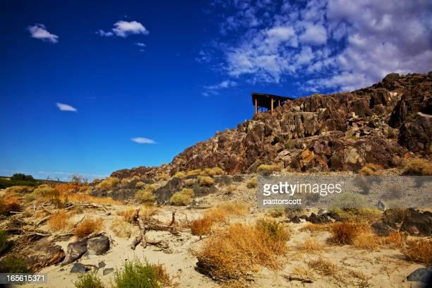 Dark Blue Desert Sky's Refuge Shelter