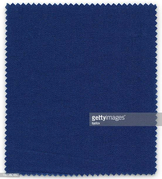 Bleu foncé Échantillon de tissu