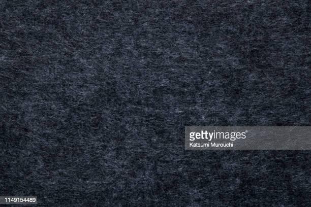 dark blue felt textile texture background - felt stock pictures, royalty-free photos & images