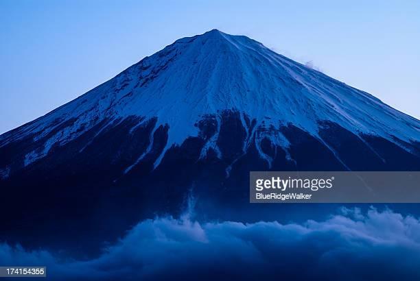 Dark blue Fuji