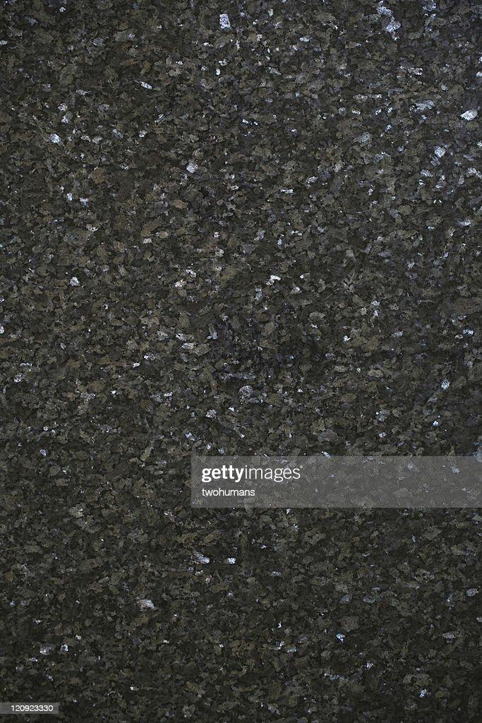 Dark blue granite : Stock Photo