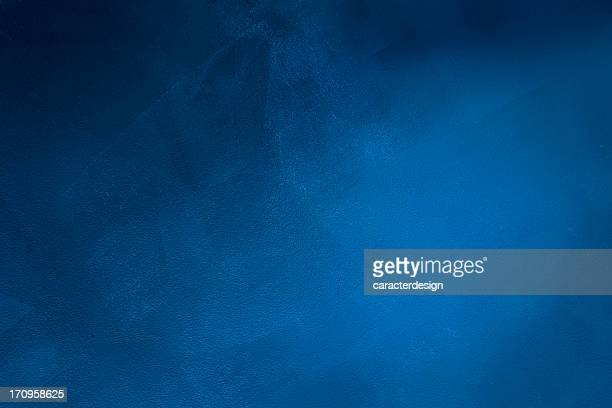 dark blue grunge background - muur stockfoto's en -beelden