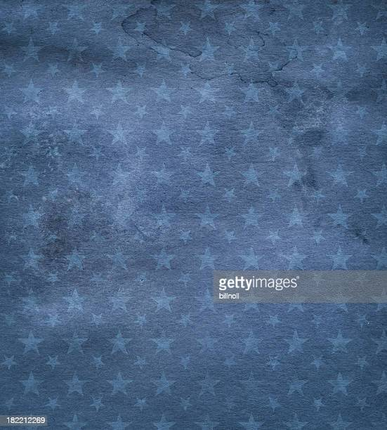 dark blue stained paper with stars