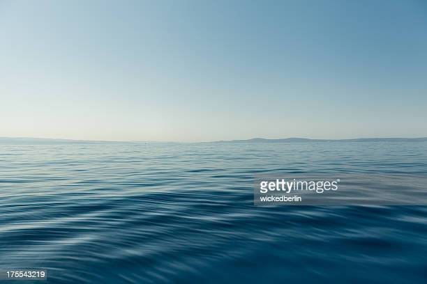 Dark blue Wasser