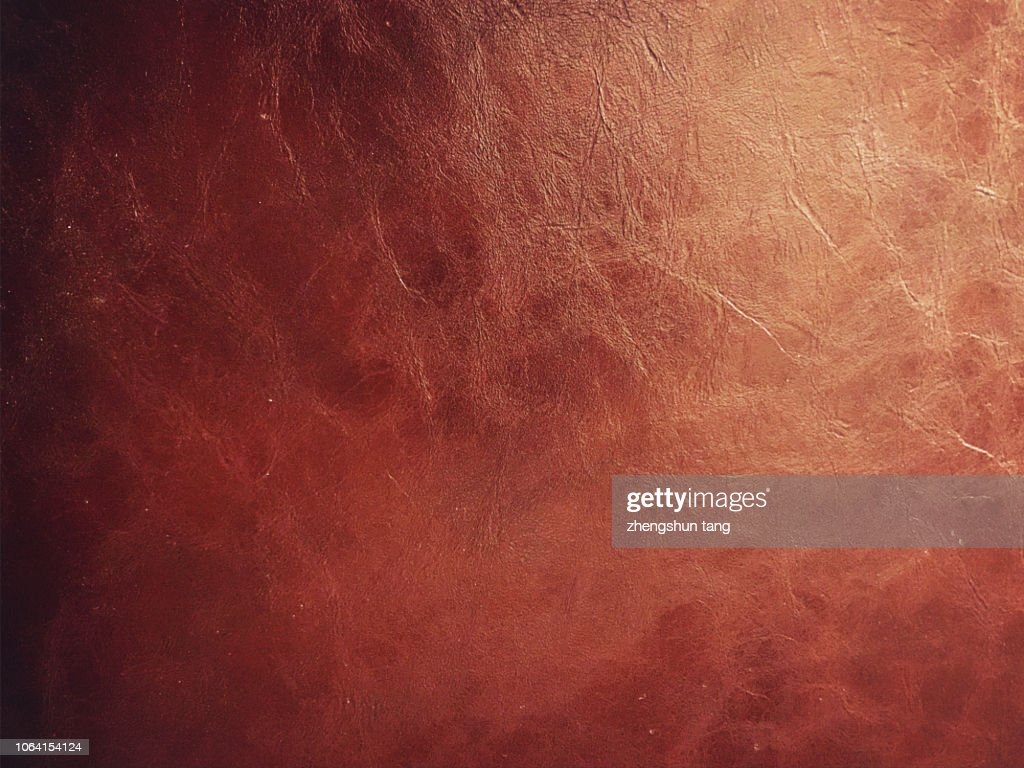 Dark brown leather texture in the light : Stock-Foto