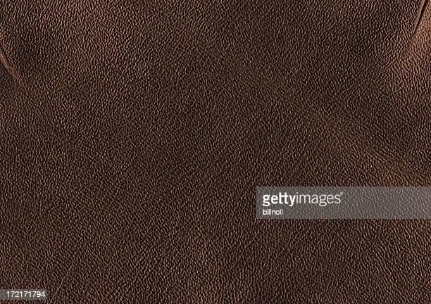 texture cuir marron foncé