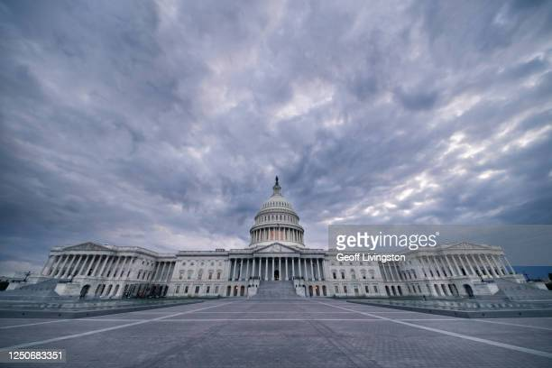 dark capitol - united states capitol rotunda stock pictures, royalty-free photos & images