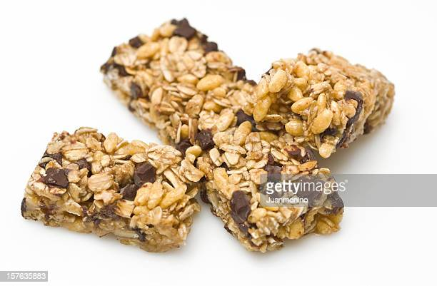 Dark chocolate almond granola bar