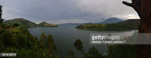 Dark clouds above Lake Burera