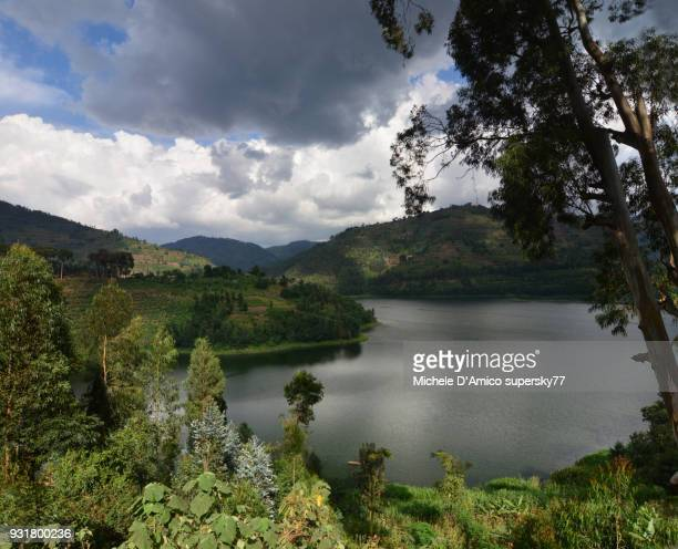 dark clouds forming above laje burera - laje stock pictures, royalty-free photos & images