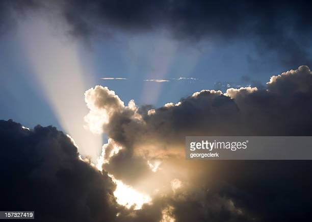 Dark Clouds Lit Up