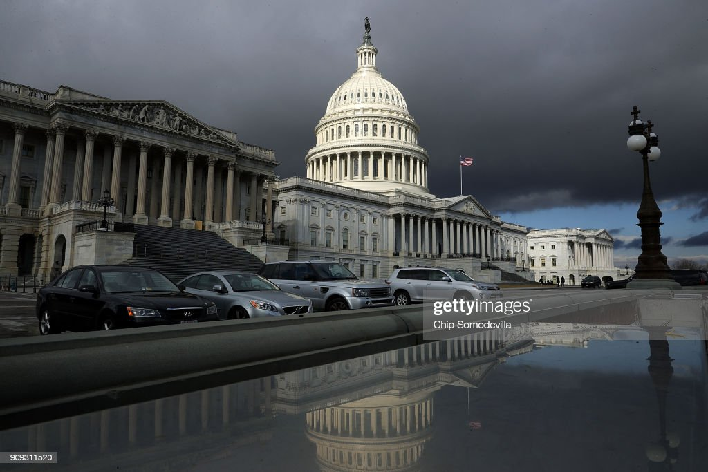 The U.S. Capitol In Washington DC