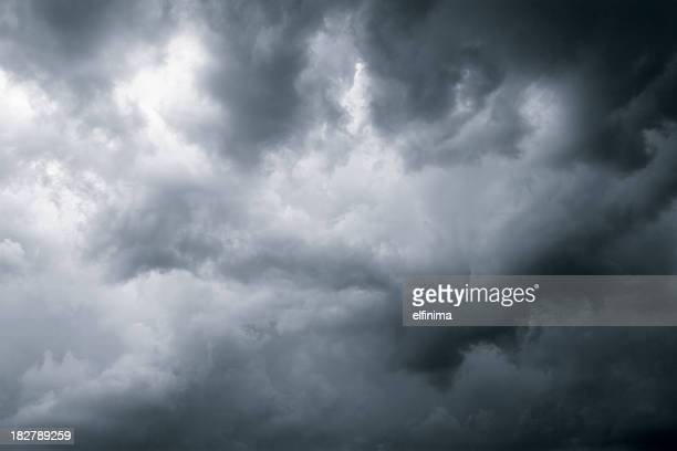 Dark dramatic clouds