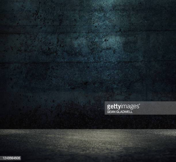 a dark empty space - atmospheric mood stock pictures, royalty-free photos & images